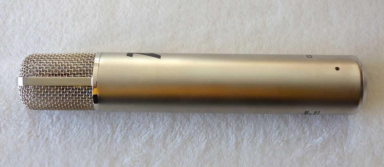 NEW Cathedral Guitars OA-1 Tube Mic Designed by Oliver Archut w/AKG Brass Ring CK-12 optimized by Klaus Heyne