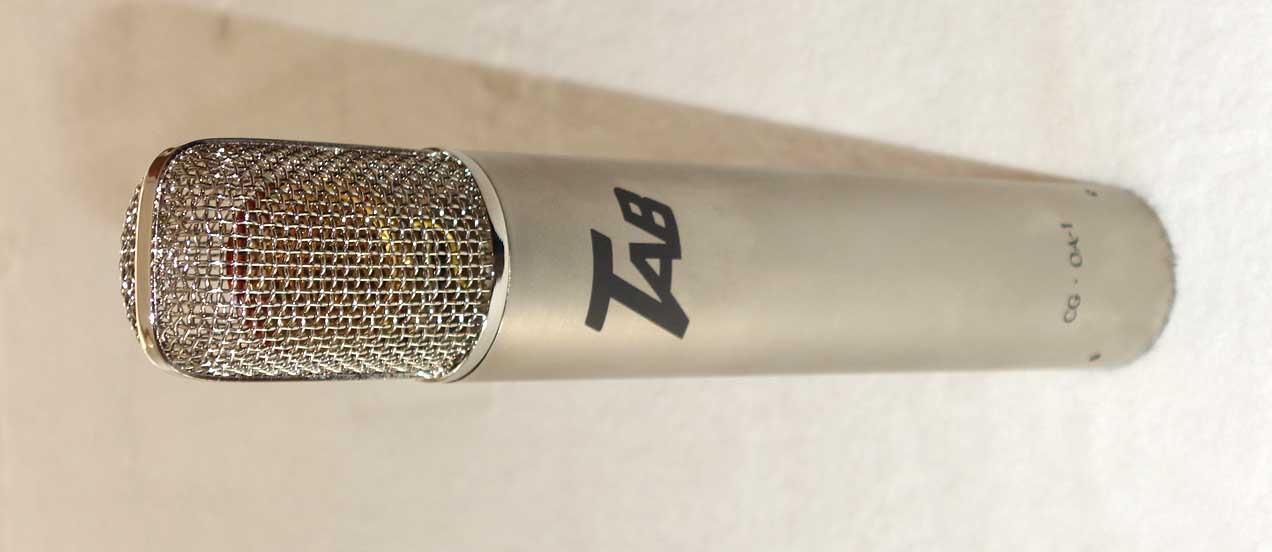 New Cathedral Guitars Oa 1 Tube Mic Designed By Oliver