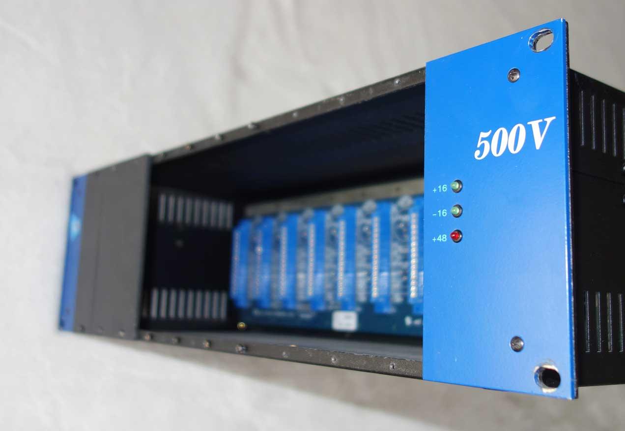 Used API 500VPR 10-Space 500-Series Rack w/PSU