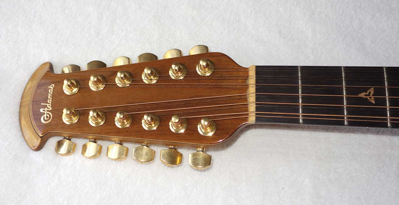 Melissa Etheridge's Personal Adamas Signature 1598-MERB 12-String Guitar #3  Used on Tour May-August, 2004