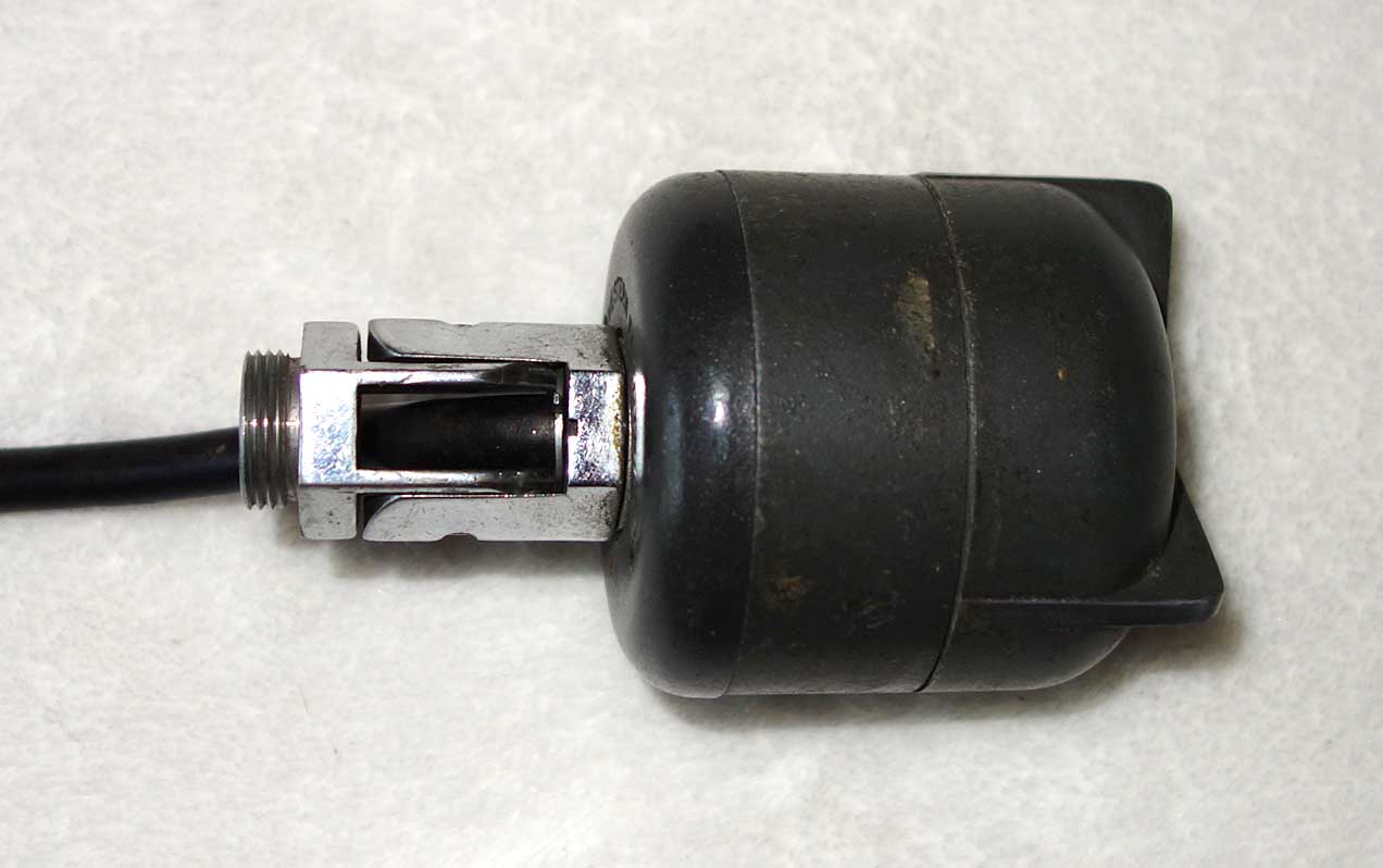 Vintage Western Electric / Altec 632 Low Impedance Dynamic Mic w/Cathedral Transformer Adapter