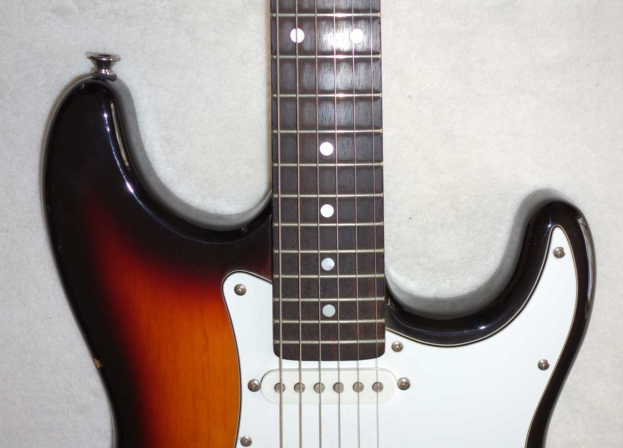 Used Aria STG Strat-Style Electric w/3x Single-Coil PUPs