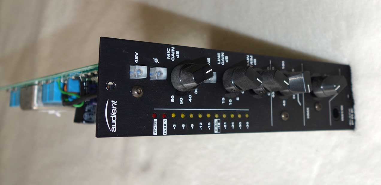 Audient Black Mic Preamp Module for Audient BB4 or BR10 Racks