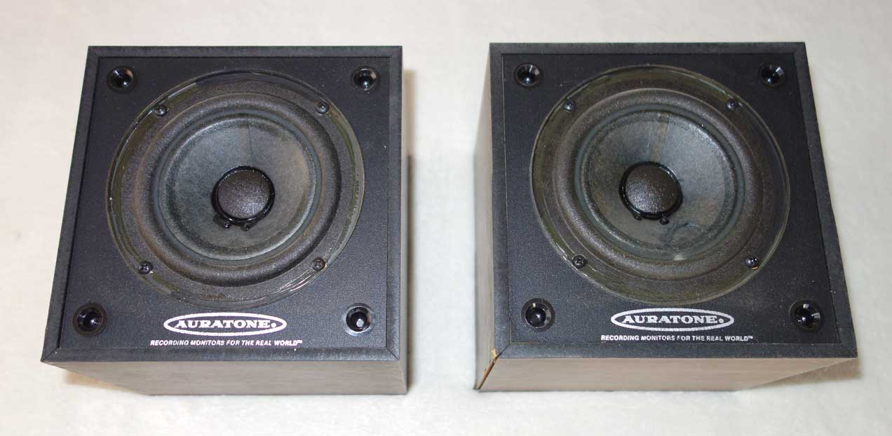 Vintage  AURATONE 5C Super-Sound Cube Studio Monitors