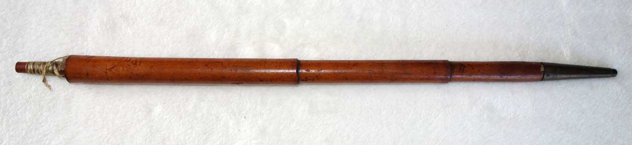 Stephan Koch, Vienna, Antique 1820 Walking Stick Recorder Flute RARE
