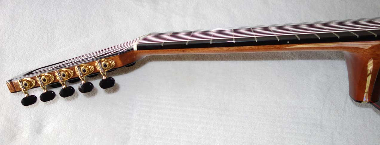 NEW Milagro Master 10S-EQ Classical 10-String Harp Guitar w/Armrest Bevel, Biteaway/Cutaway, Fishman Presys Pickup!!