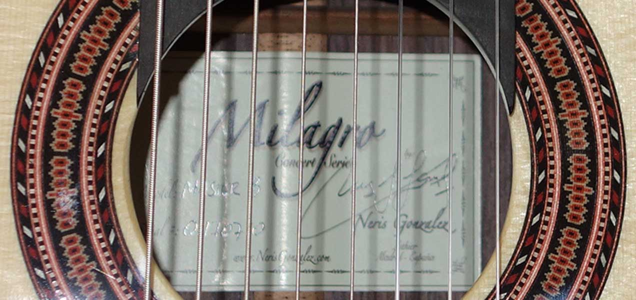 New MILAGRO Master Series 8S Classical 8-String Harp Guitar