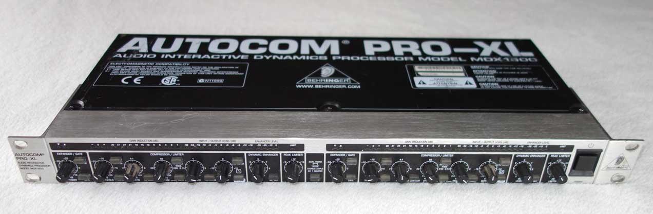 Used Behringer MDX1600 AUTOCOM PRO-XL Compressor / Limiter