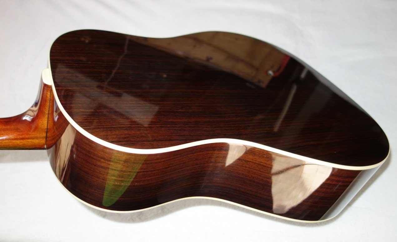 Blueridge BG-160 Sloped-Shoulder Dreadnaught Guitar Sunburst Finish, All-Solid Wood Construction w/Softshell Case