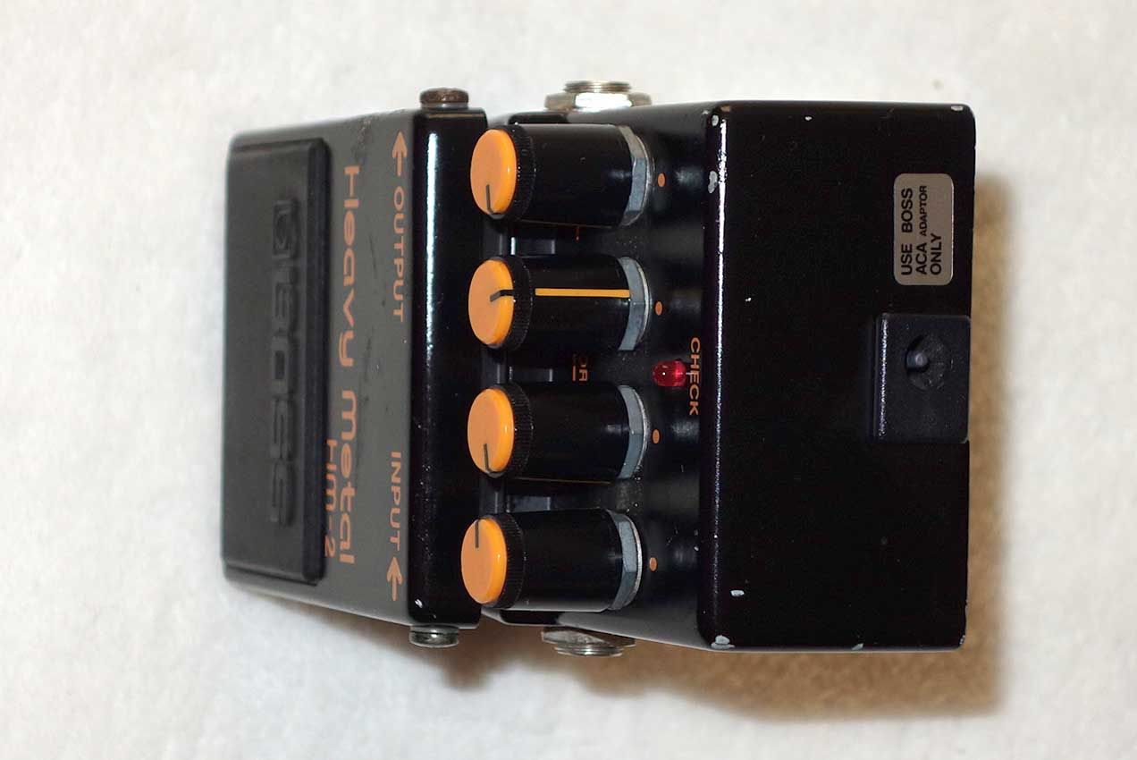 Vintage 1980s BOSS HM-2 Heavy Metal Distortion Pedal w/Kill Switch
