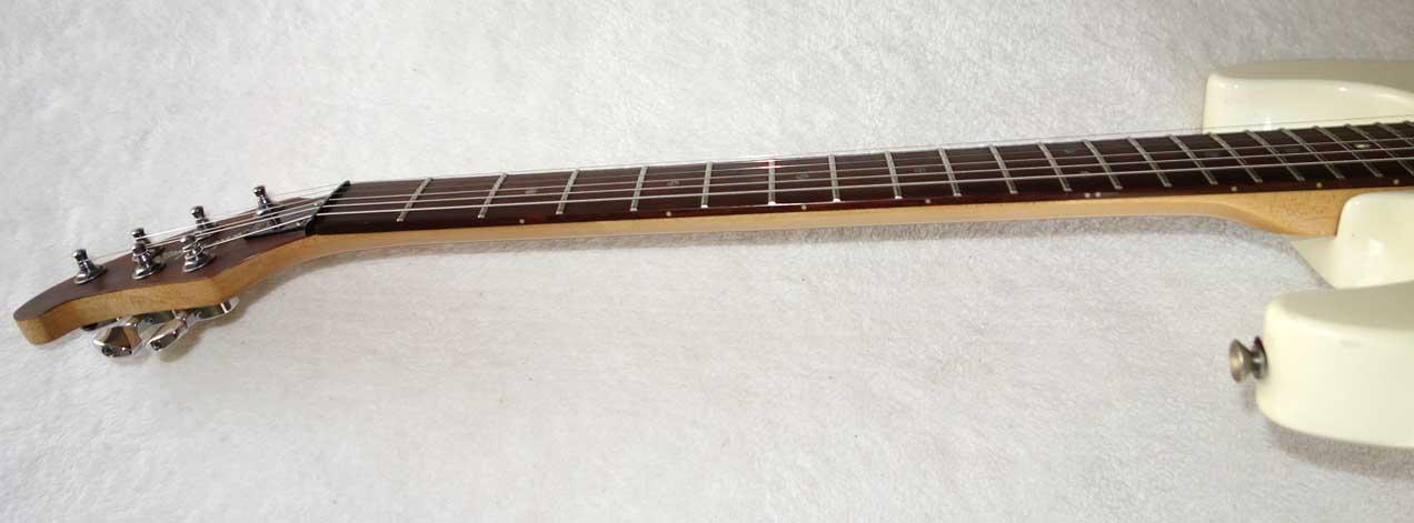 Carlo Robelli / Brian Moore Strat-Style Electric Guitar in Alpine White