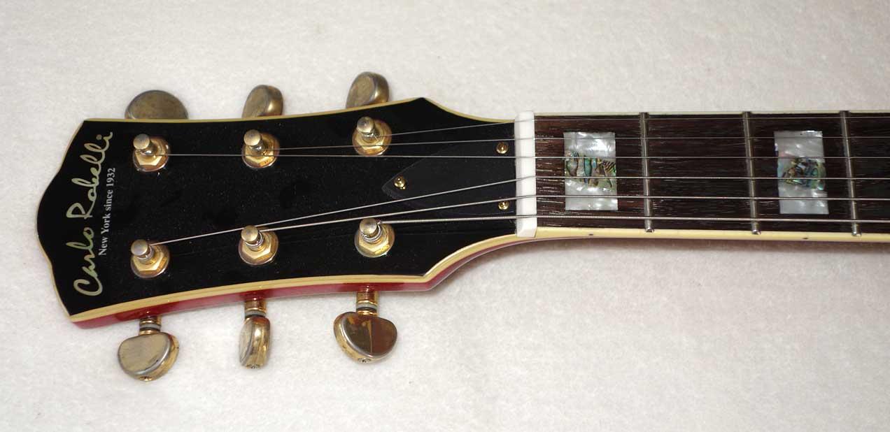 "Used Carlo Robelli ES-350 / Byrdland-Style 17"" Hollow Body Guitar w/DiMarzio 36th Anniversary PAF Pickups Upgrade"