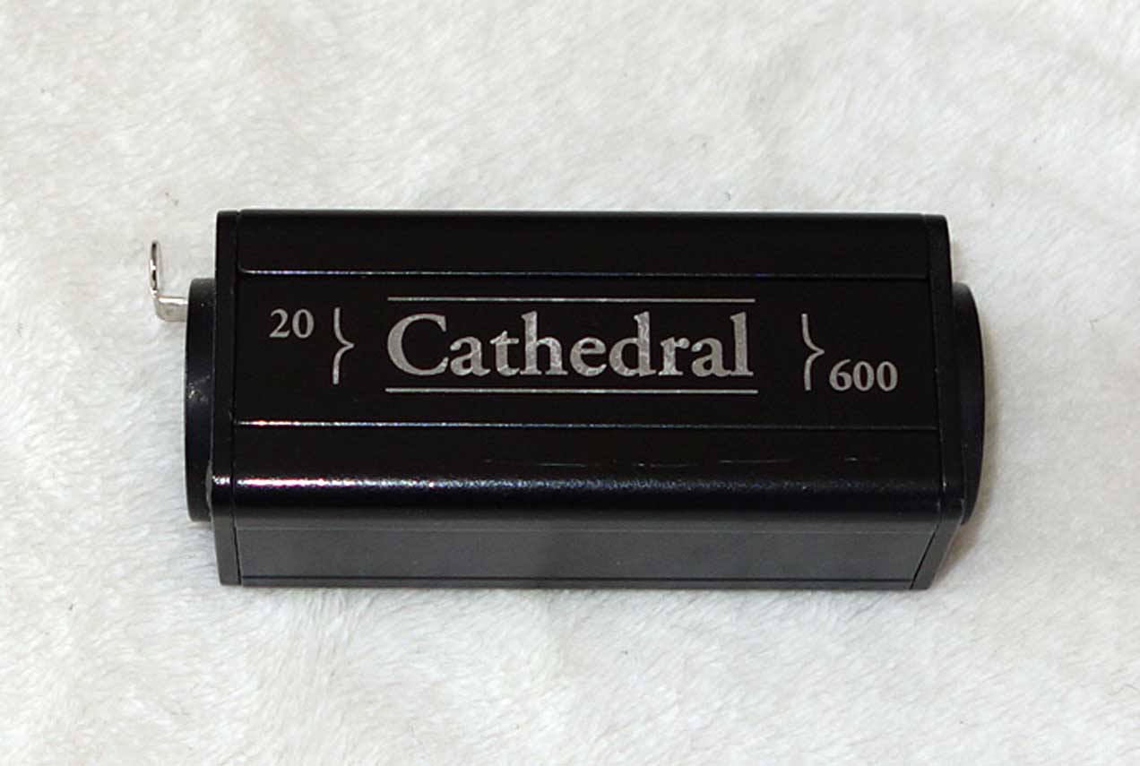 Cathedral 20-600 Dynamic Mic Transformer Adapter for all 20-Ohm transformerless dynamics like the Western Electric / Altec 632/633, and the older STC / Coles ball and bisquit mics