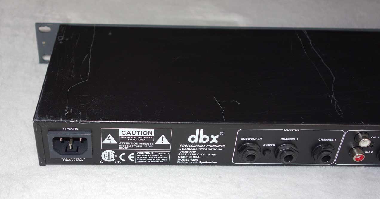 Used DBX 120A Subharmonic Synthesizer
