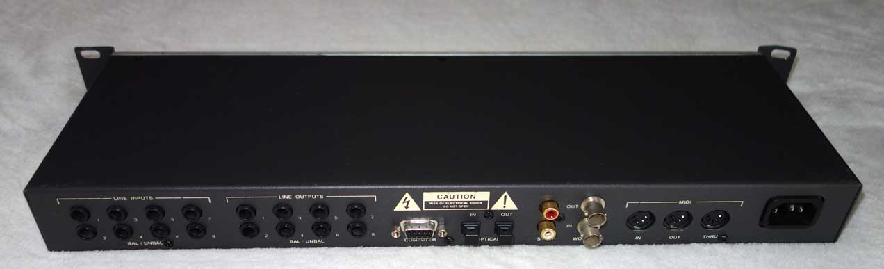 Used Echo Layla 24/96 8-Channel AD/DA Converter for PCI w/PCI Card, Interconnect Cable