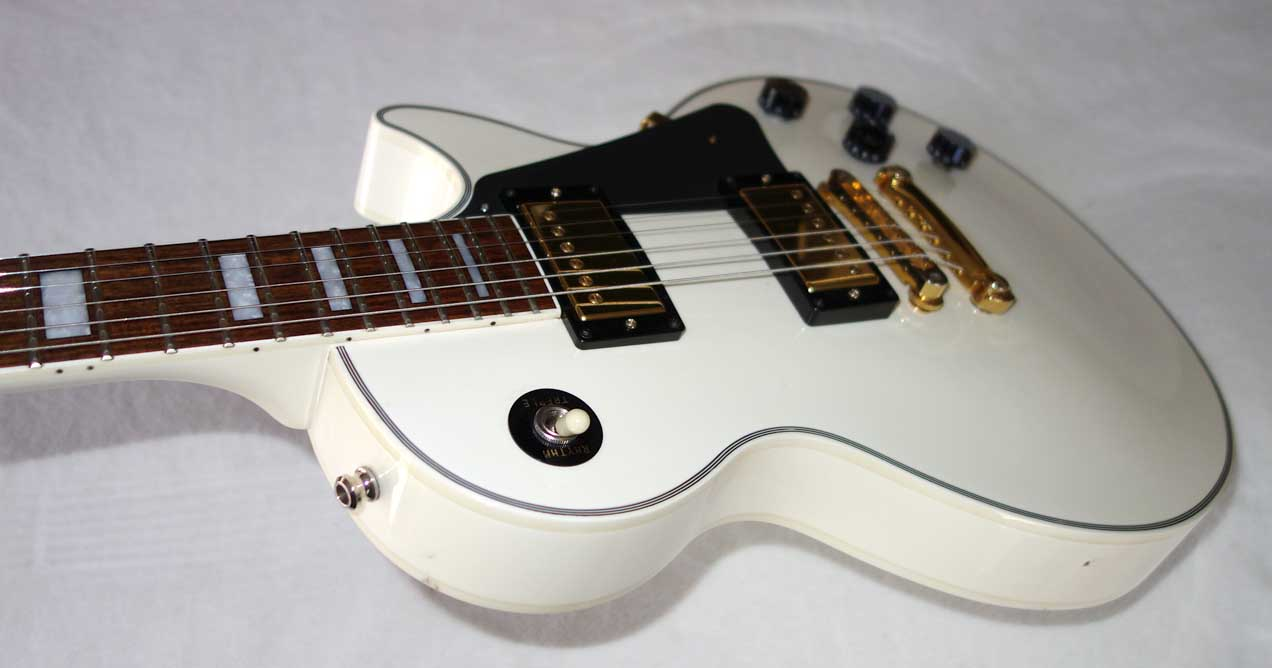 2004 Epiphone Elitist Les Psul Custom Upgraded with Gibson 490R/498T Pups, ABR-1, Stop Tailpiece, Made by Fuji-Gen, Japan
