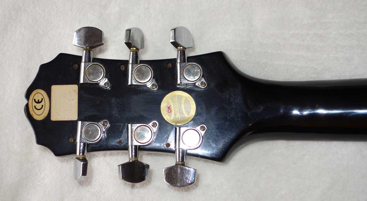 1998 Epiphone Les Paul Junior Sunburst Finish, Made by Samik Indonesia (SI)
