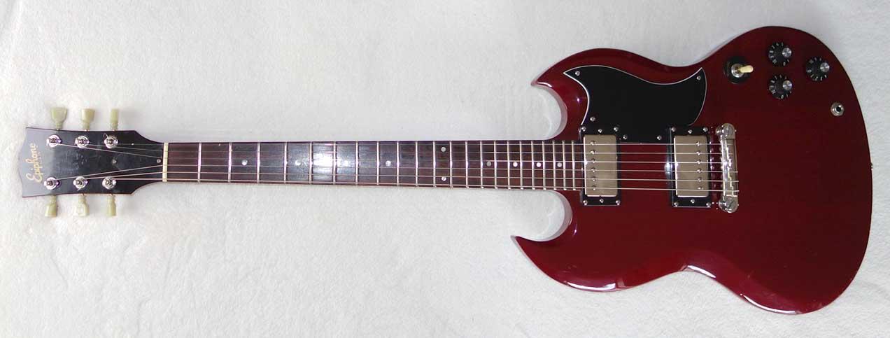 Vintage 1982 Epiphone SG Special II Kalamazoo, Ferrari Red