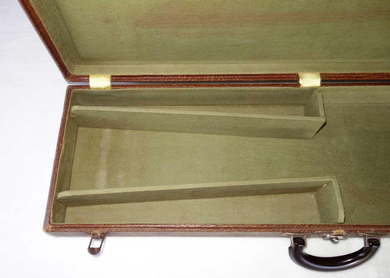 "Vintage 1950s Geib Lap Steel Guitar Case ""FLAWLESS"" Model, 3-Latch Case for 32x9"""" Lap Steel Guitars"