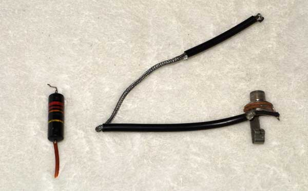 Vintage 1956 Gibson Wiring Harness and Output Jack