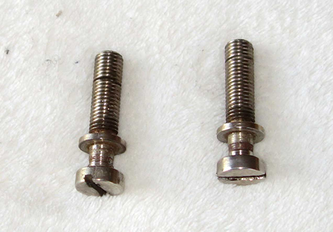 Vintage 1959 Gibson Bridge Studs Nickel Plated, 1 1/2""