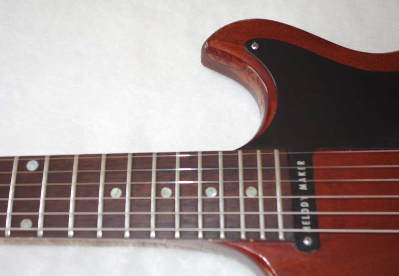 Vintage 1965 Gibson Melody Maker Electric Solid Body Guitar in