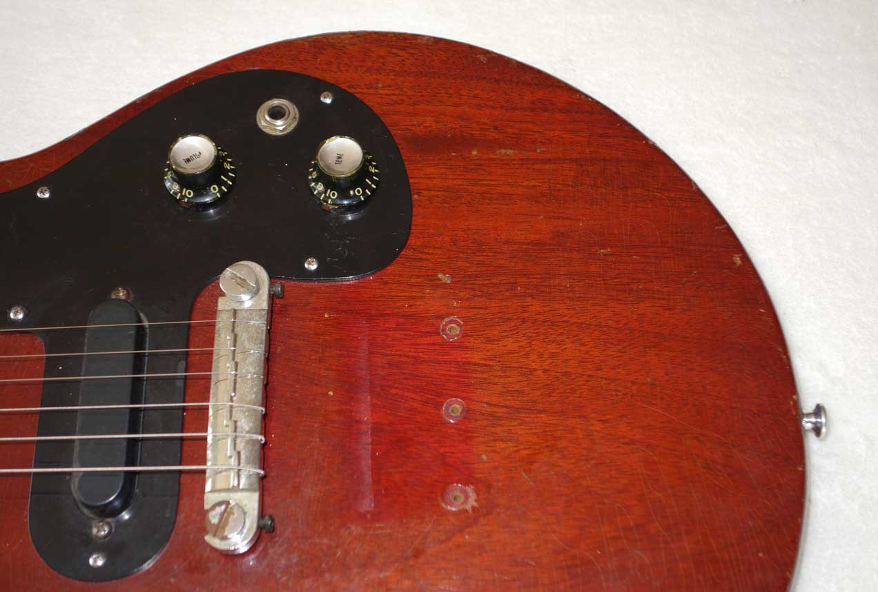 Vintage 1966 Gibson Melody Maker Pickguard for Type III / Joan Jet-Style, 1x PUP Melody Makers