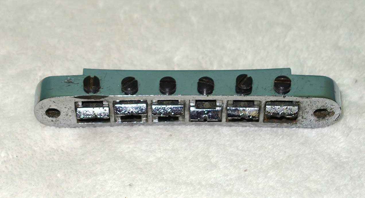 "Vintage 1970s Gibson NASHVILLE Bridge  Stamped ""Made In Germany"""