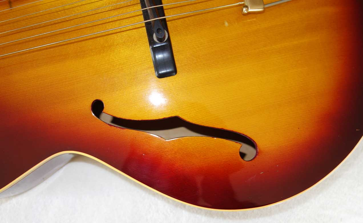 "Vintage 1930s Gibson L12 Acoustic Archtop, 16"" w/picture Fram Inlays"