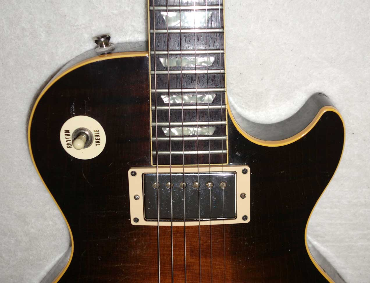 Vintage 1985 Les Paul Standard, Flame Top