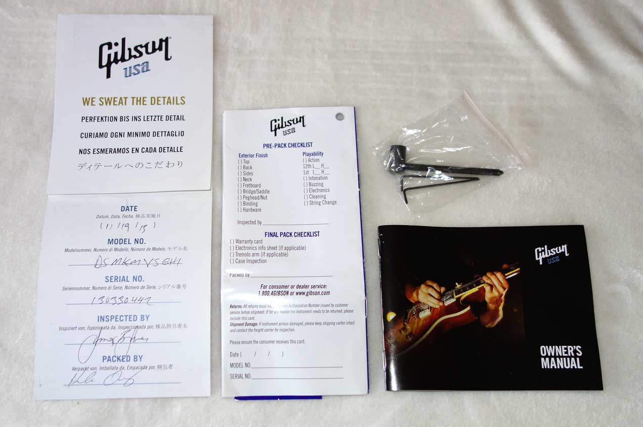2013 Gibson Midtown Kalamazoo Limited Run Byrdland / ES-350 Tribute w/Hardshell Case