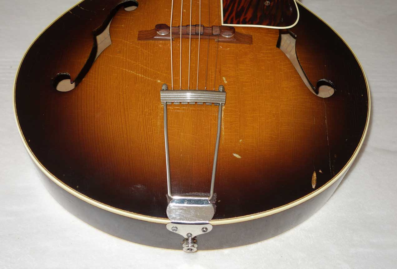 "Vintage 1936 Gibson / Recording King 1284 / M4 16"" Archtop w/Mahogany Neck, Brazilian Rosewood FB, Carved Top, Truss Rod!!"