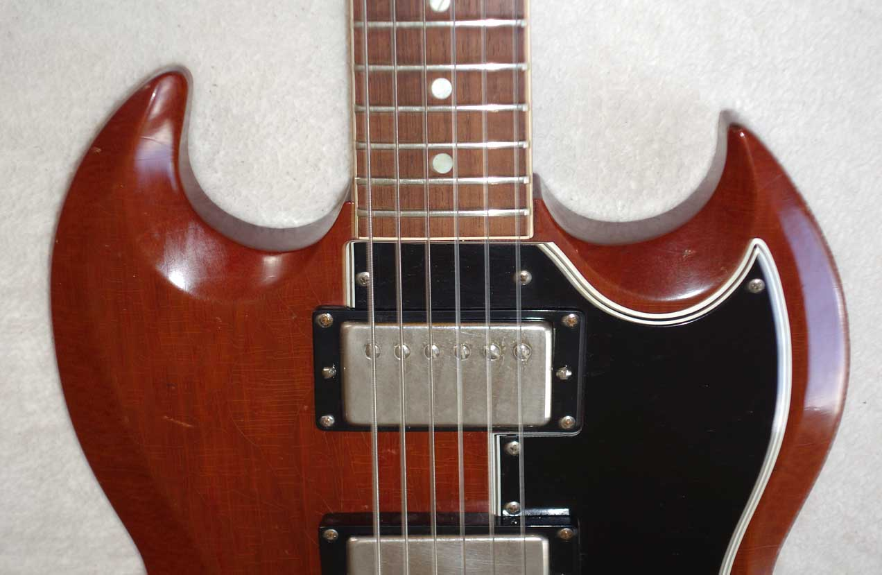 Vintage 1962 Gibson SG Special Modded to BurstBucker 3 HBs
