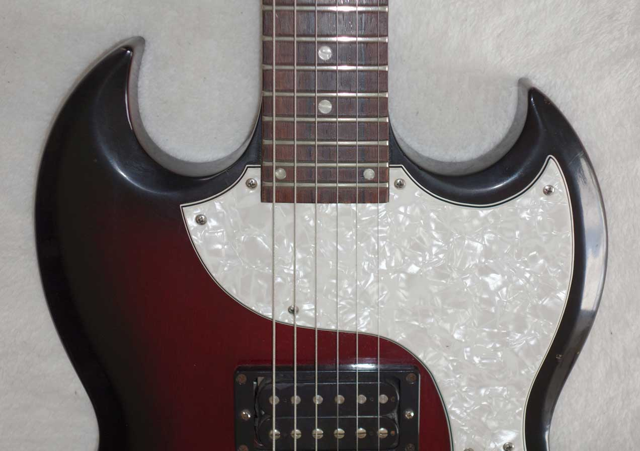 RARE 2000 Gibson SG-X in Wineburst