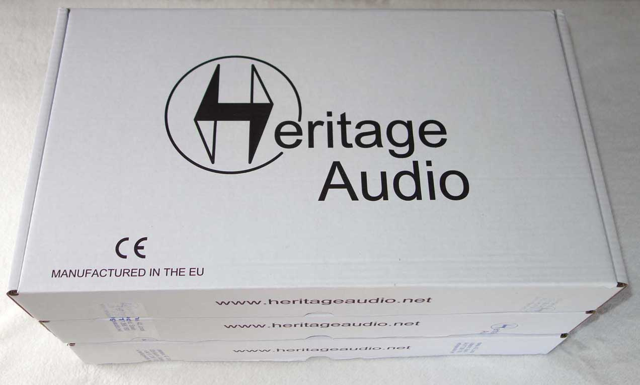 Heritage Audio HA73 / Elite Series / Single-Channel 1073 Mic Pre Brand New in Unopened Box -- Authorized Heritage Audio Dealer --
