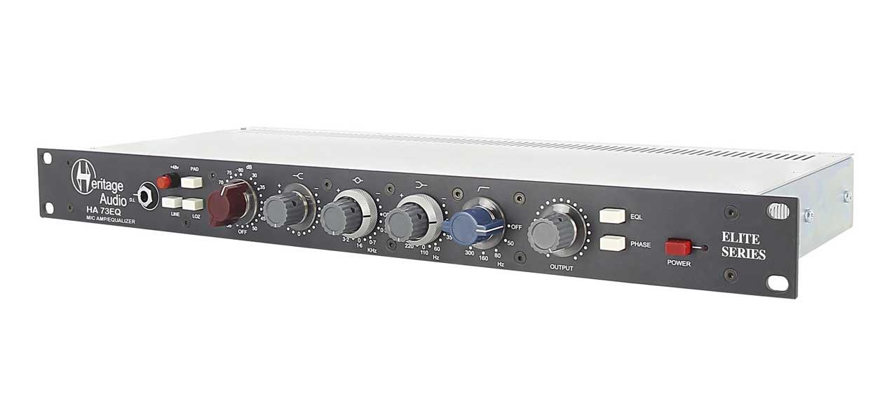 Heritage Audio HA73EQ Elite Series Mic Pre + EQ
