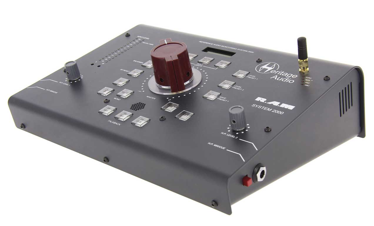 Heritage Audio RAM-2000 Stereo Mastering Grade Monitor Controller