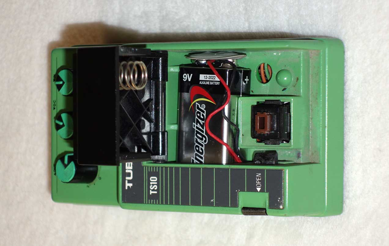 Vintage 1980s IBANEZ TS10 Classic Tube Screamer MIJ
