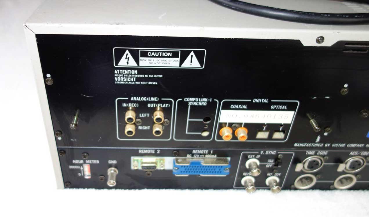 JVC JS-DT900 Rack Mount DAT Tape Deck w/XLR Line Ins/outs