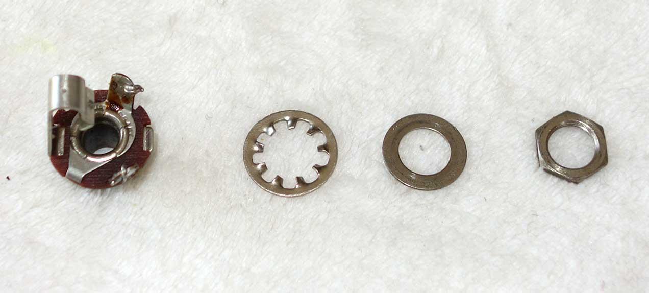 Complete w/Original 1966 Washers, Nut
