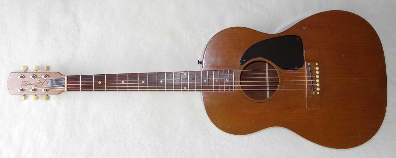 Vintage 1968 Kalamazoo KG-10 Mahogany Guitar Made by Gibson / Kalamazoo (B-15)