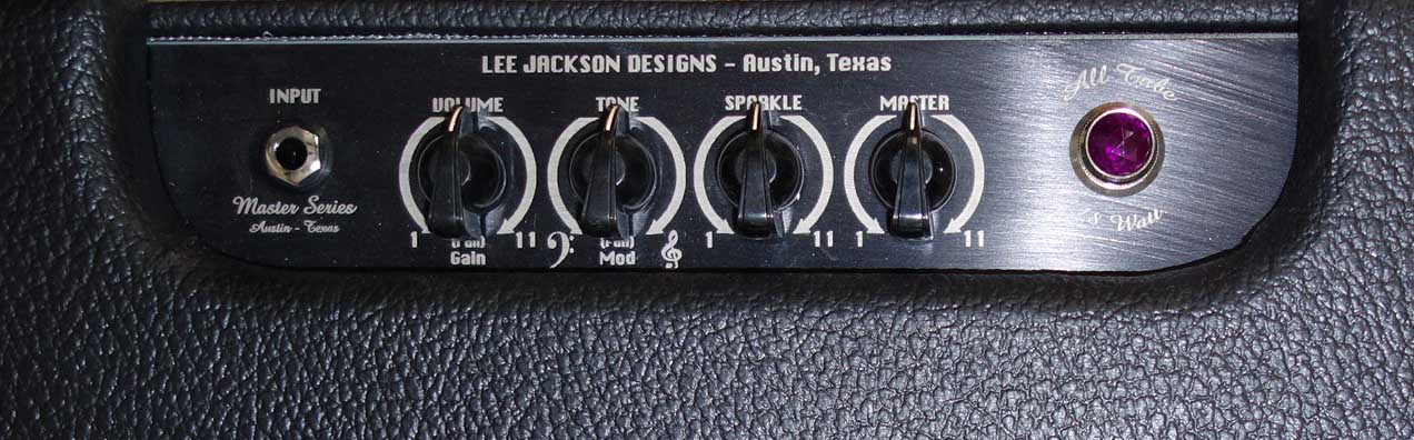 New Lee Jackson MASTER SERIES Model 1884 Guitar Tube Amp Head