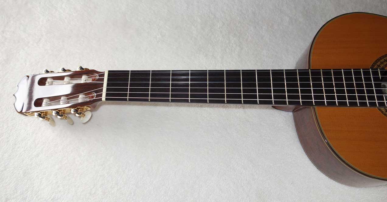 Vintage 1976 Rioji Matsuoaka M60 Classical Guitar w/Case, Brazilian Back & Sides