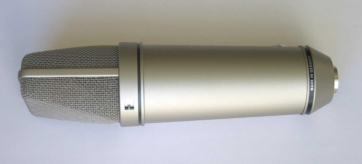 Dealer Demo NEUMANN U87Ai Condenser Microphone, w/Free Aftermarket Shockmount