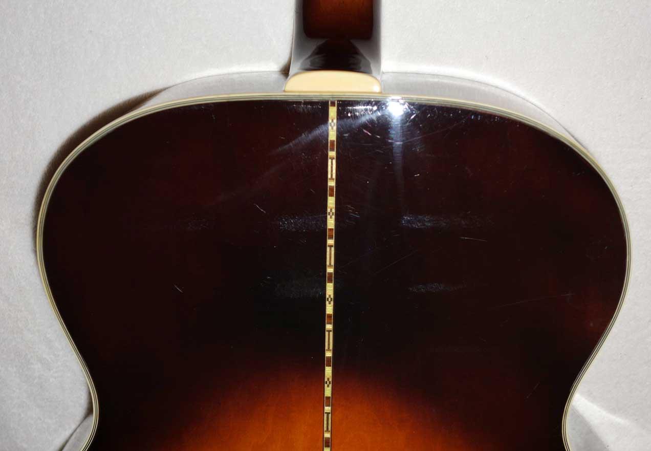 1991 Orville By Gibson J200 Super Jumbo Acoustic Guitar in Sunburst (MIJ Terada)