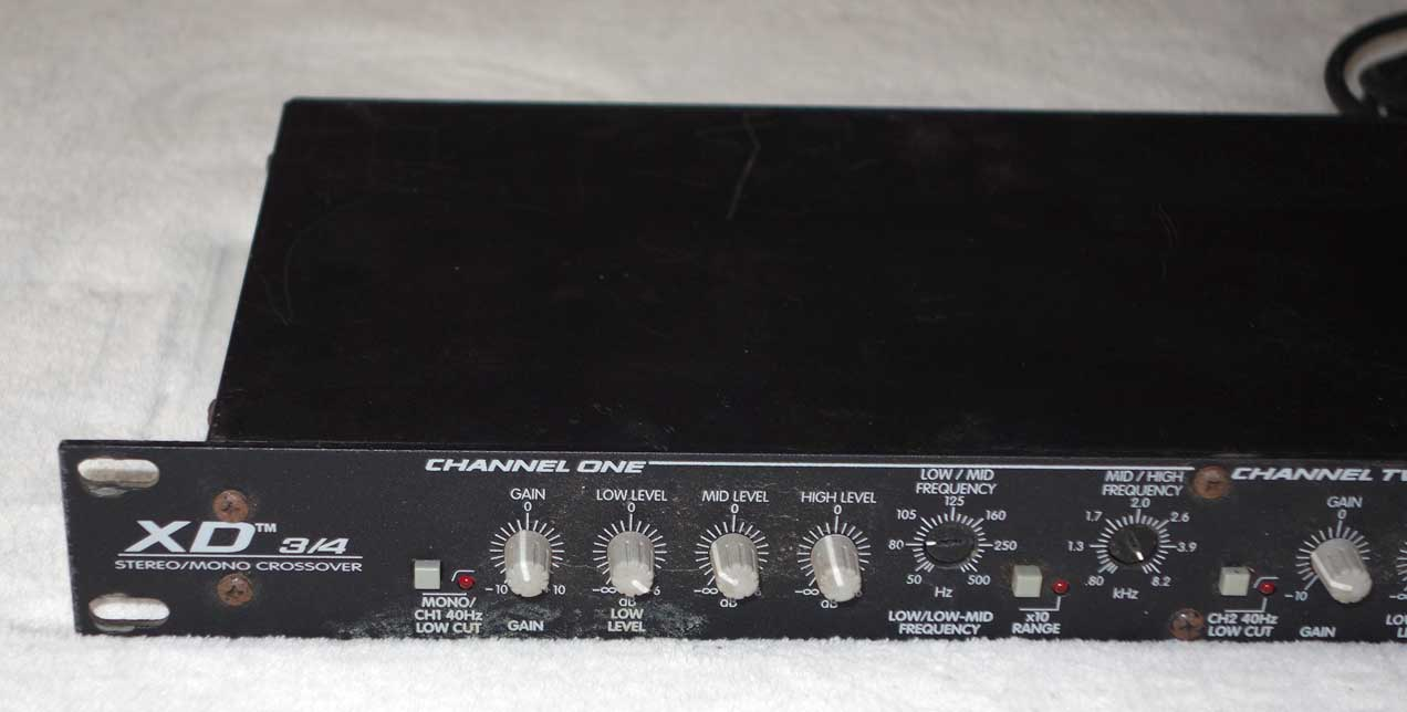 Used PEAVEY XD 3/4 Mono/Stereo Crossover for PA or Bass