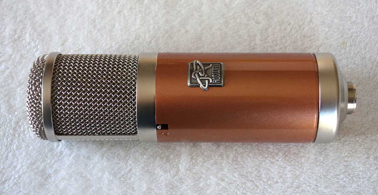 New Roswell Pro Audio Colares Flagship Vocal Mi