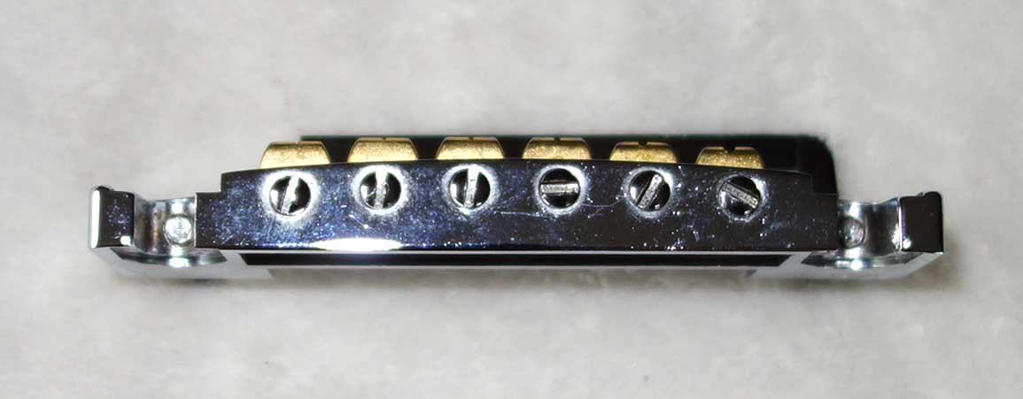 Vintage 1982 Schaller 455 Intonable Wraparound Bridge Tailpiece