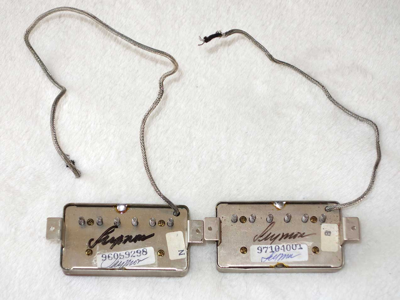 Early Version Seymour Duncan Antiquity Humbucker Set Handmade by Seymour Duncan!!