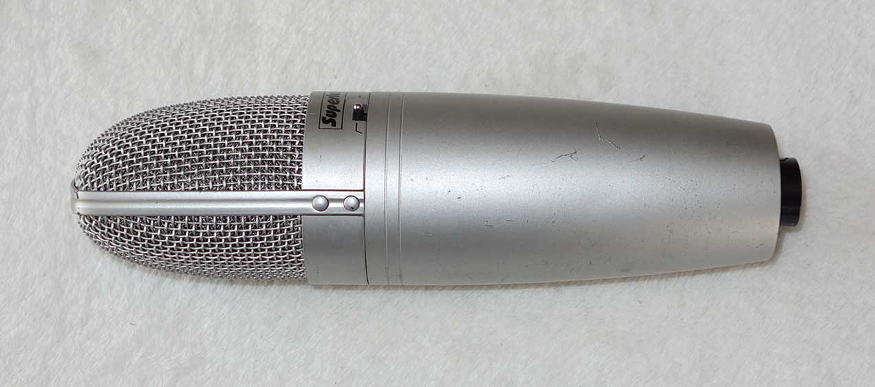 Superlux CM-H8B Transformer-Coupled Condenser Mic